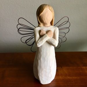 """WILLOW TREE """"Sign for Love"""" Angel Figurine"""